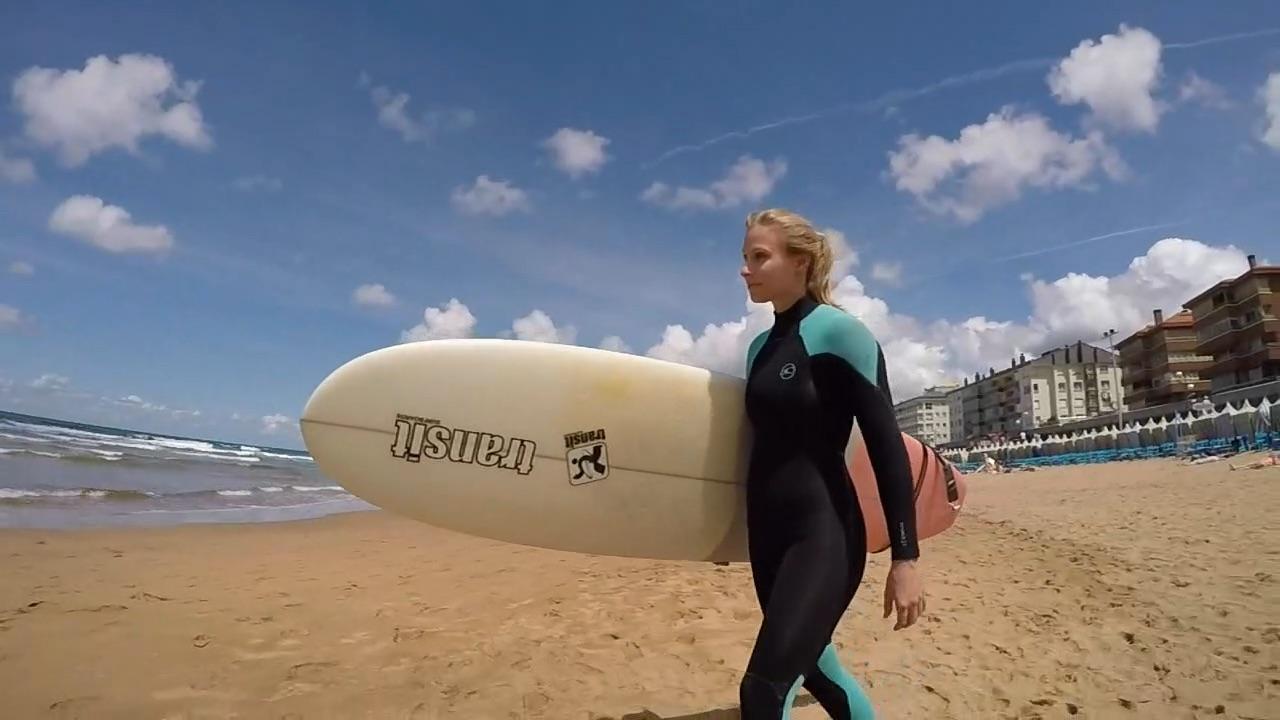 Donostia-San Sebastian & Zarautz Surfing & Tapas