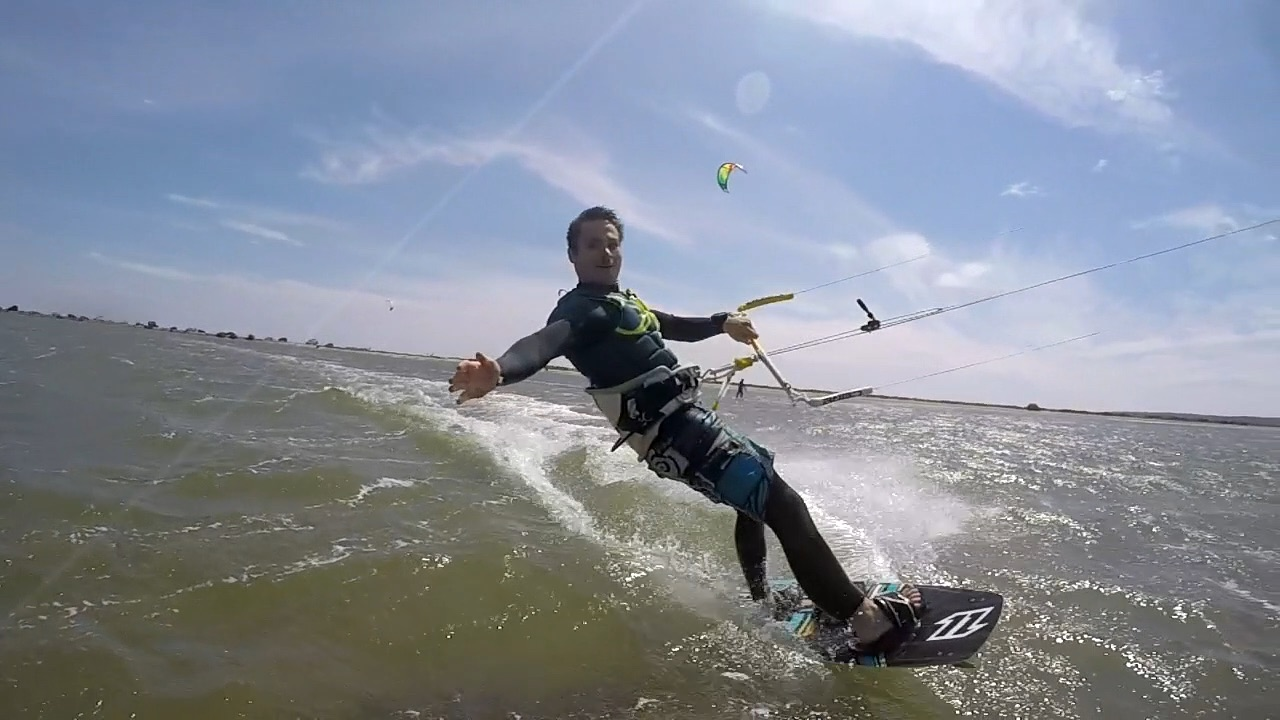 Kite Surfing in France